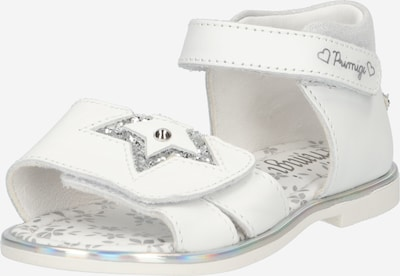 PRIMIGI Sandales en argent / blanc, Vue avec produit