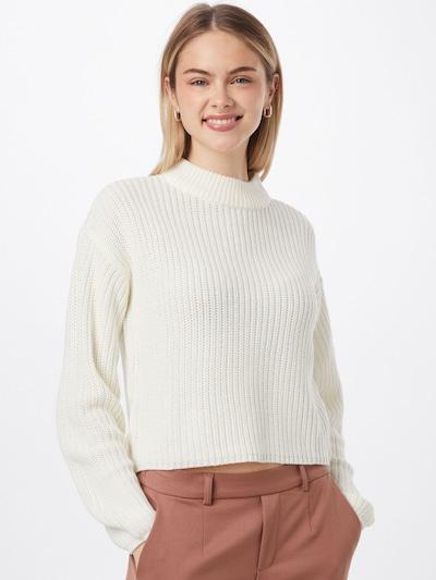 JDY Pullover 'SISTER' in weiß, Modelansicht