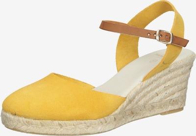 SANSIBAR Schuh in gelb, Produktansicht