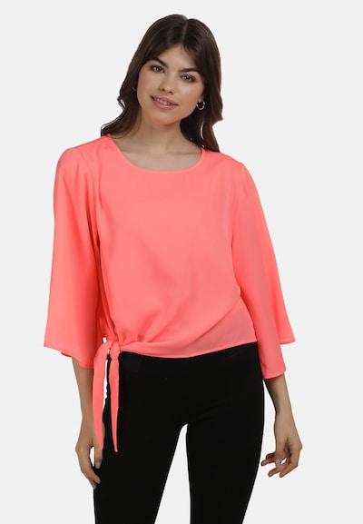 MYMO Bluse in neonpink, Modelansicht