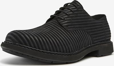 CAMPER Schnürschuh 'Twins' in schwarz, Produktansicht
