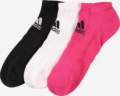 ADIDAS PERFORMANCE Skarpety sportowe 'CUSH' w kolorze różowy / czarny / białym, Podgląd produktu