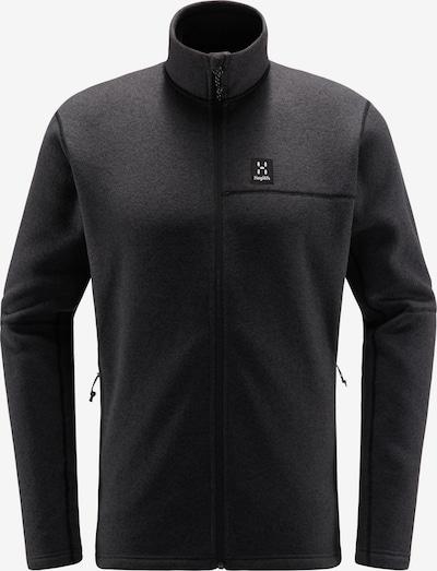 Haglöfs Funktionele fleece-jas 'Swook' in de kleur Antraciet / Wit, Productweergave