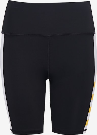 Superdry Pantalon de sport en jaune clair / noir / blanc, Vue avec produit