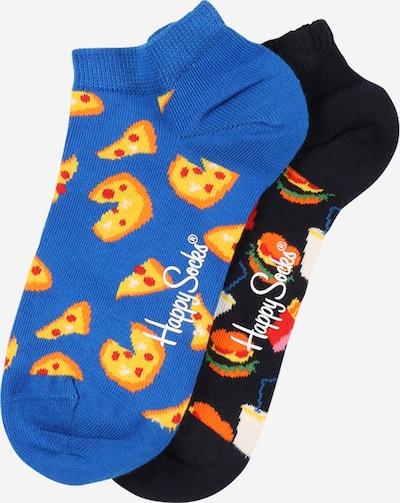 Happy Socks Socken  'Junk Food' in royalblau / mischfarben / schwarz, Produktansicht