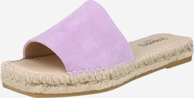 espadrij l´originale Pantolette 'Carree' in lavendel, Produktansicht