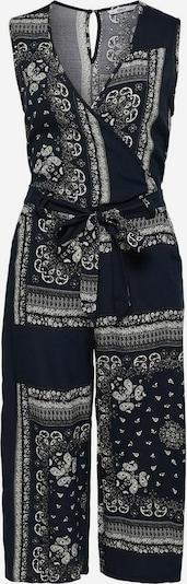 ONLY Jumpsuit in de kleur Donkerblauw / Zwart / Wit, Productweergave