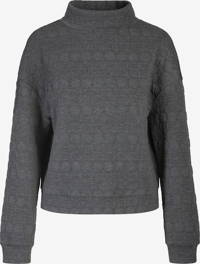 APART Oversized Shirt aus Jersey-Cloqué-Ware in grau, Produktansicht