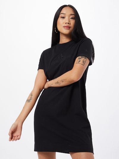 Calvin Klein Jeans Letní šaty 'ARCHIVES' - černá, Model/ka
