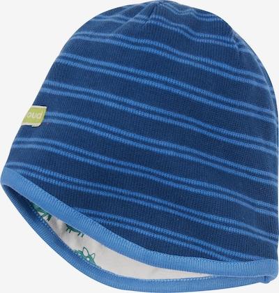 loud + proud Mütze in blau / dunkelblau, Produktansicht