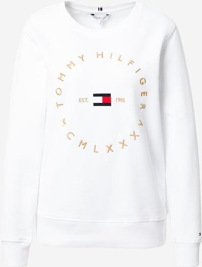 TOMMY HILFIGER Sweatshirt in marine / gold / rot / weiß, Produktansicht