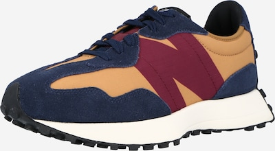 new balance Sneakers laag in de kleur Navy / Abrikoos / Pastelrood, Productweergave