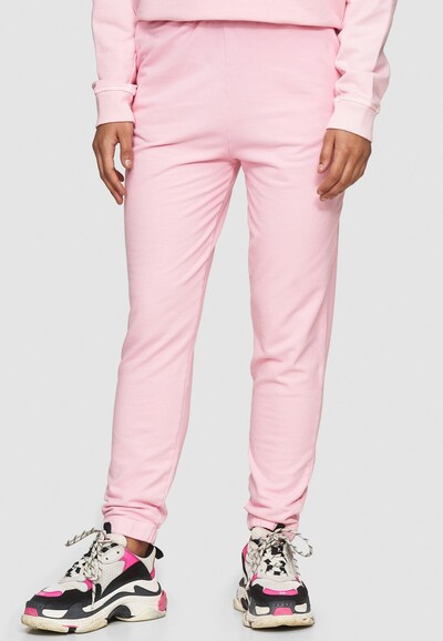 Cotton Candy Sweathose 'PIPA' in pink, Modelansicht