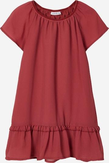 NAME IT Kleid 'RITAKA' in rostrot, Produktansicht