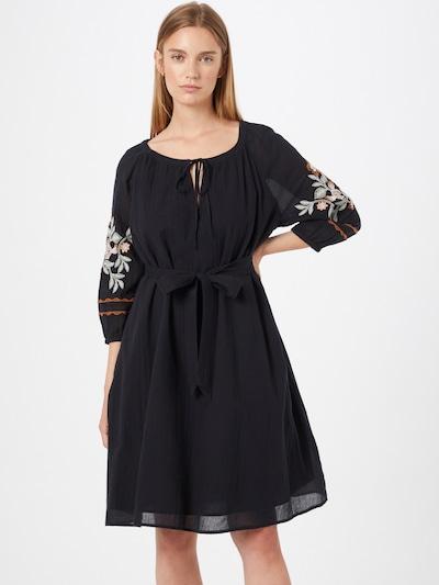 ESPRIT Kleid 'Gabby' in braun / schwarz / weiß, Modelansicht