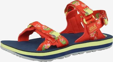 JACK WOLFSKIN Sandaal 'Outfresh Deluxe' in Rood