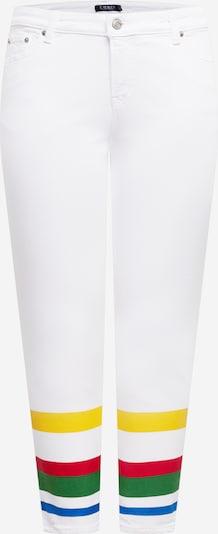 Lauren Ralph Lauren Jeans in blau / gelb / grün / rot / weiß, Produktansicht