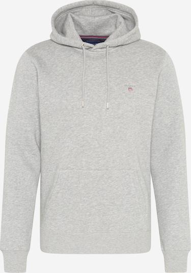 GANT Sweater majica u siva melange, Pregled proizvoda