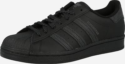 ADIDAS ORIGINALS Zemie brīvā laika apavi 'Superstar', krāsa - melns, Preces skats