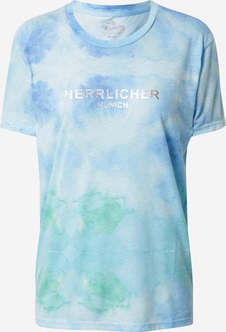 Herrlicher T-Shirt in Blau