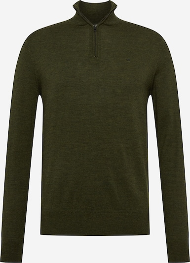 Calvin Klein Pull-over en olive, Vue avec produit