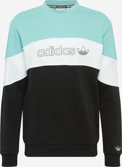 ADIDAS ORIGINALS Sweatshirt 'BX 20' in himmelblau / schwarz / weiß, Produktansicht
