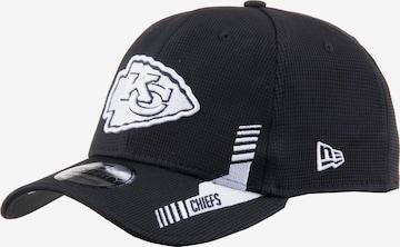 NEW ERA Athletic Cap '39thirty Kansas City Chiefs' in Black