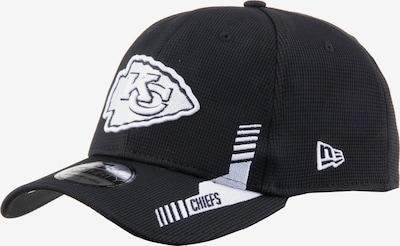 NEW ERA Sportcap '39thirty Kansas City Chiefs' in schwarz / weiß, Produktansicht
