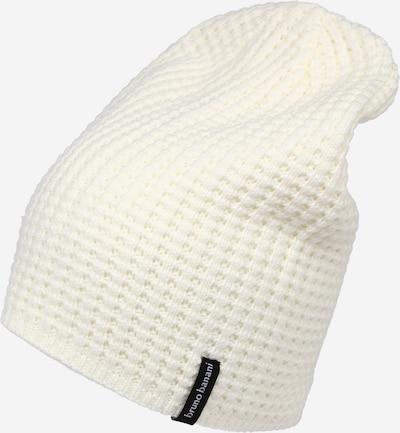 BRUNO BANANI Muts in de kleur Wit, Productweergave