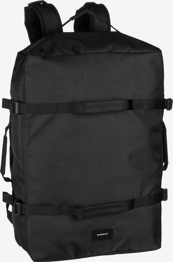 SANDQVIST Laptoprucksack ' Zack Duffel Bag ' in schwarz, Produktansicht