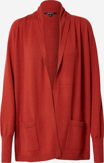 COMMA Knit cardigan in Rusty red, Item view