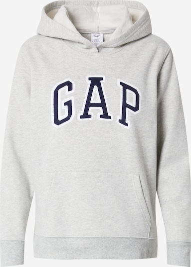 GAP Sweatshirt in Dark blue / mottled grey / White, Item view