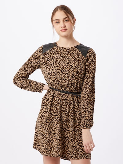 VERO MODA Dress 'SERENA' in brown / light brown / black, View model