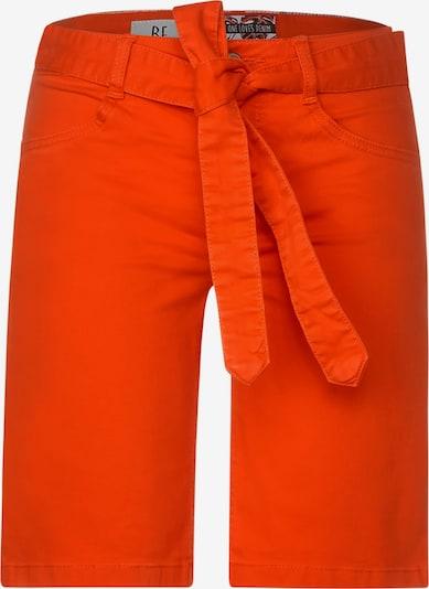 STREET ONE Denim-Bermuda im Colour-Look in orange, Produktansicht