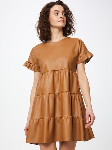 WAL G. Dress in Brown