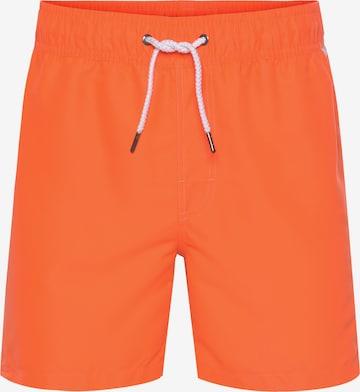 CHIEMSEE Swimming Trunks in Orange