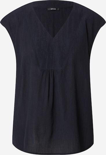 OPUS Bluse 'Farani' in de kleur Kobaltblauw, Productweergave