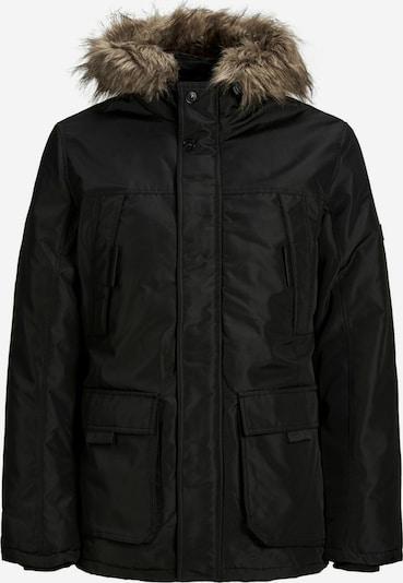 JACK & JONES Winterparka in de kleur Bruin / Zwart, Productweergave
