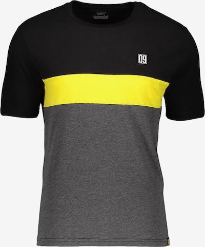 Borussia Dortmund T-Shirt in gelb / grau / schwarz, Produktansicht