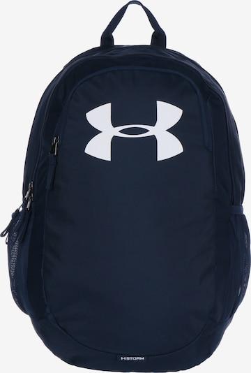 UNDER ARMOUR Sportrugzak in de kleur Donkerblauw / Wit, Productweergave