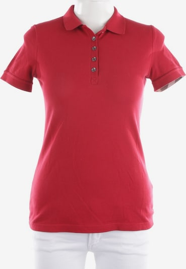 BURBERRY Poloshirt in S in rot, Produktansicht