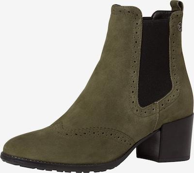TAMARIS Chelsea boty - khaki / černá, Produkt