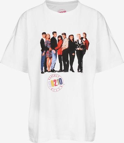 Noisy may T-Shirt 'IDA Beverly Hills' in mischfarben / weiß, Produktansicht