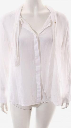 by Marlene Birger Langarm-Bluse in L in weiß, Produktansicht