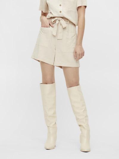 OBJECT Pantalon 'Hady' en beige, Vue avec modèle
