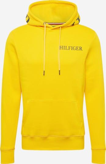 TOMMY HILFIGER Sportisks džemperis, krāsa - citronkrāsas / melns, Preces skats