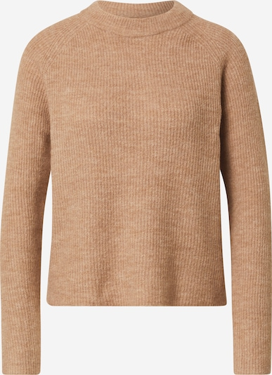 PIECES Pullover in hellbraun, Produktansicht