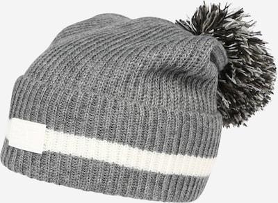 EA7 Emporio Armani Mütze in grau / weiß, Produktansicht