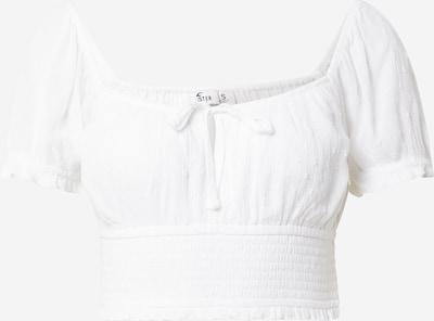 HOLLISTER Bluse in weiß: Frontalansicht