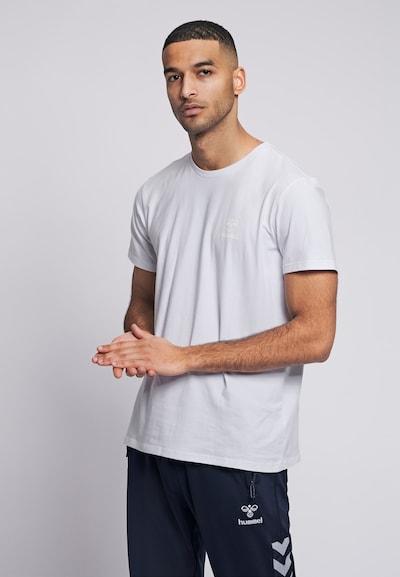 Hummel Shirt in weiß: Frontalansicht
